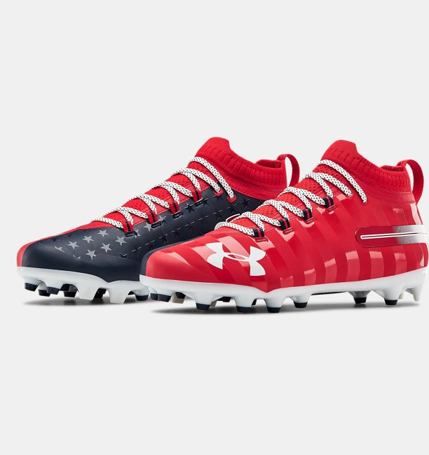 Mens UA Spotlight LE Football Cleats