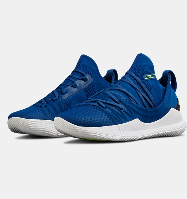 Mens UA Curry 5 Basketball Shoes