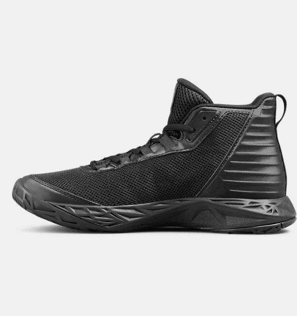 Boys Grade School UA Jet 2018 SYN Basketball Shoes