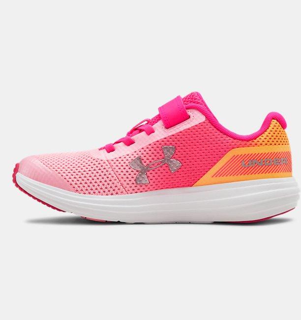Sepatu UA Surge RN Prism untuk Anak Perempuan Prasekolah