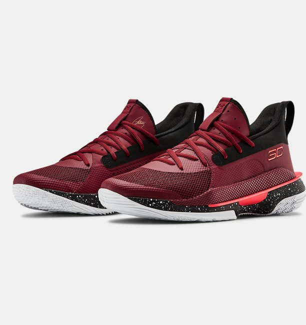 Mens UA Curry 7 Basketball Shoes