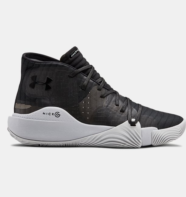 Mens UA Spawn Mid Basketball Shoes