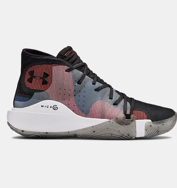 Mens UA Spawn Mid Basketball Shoes