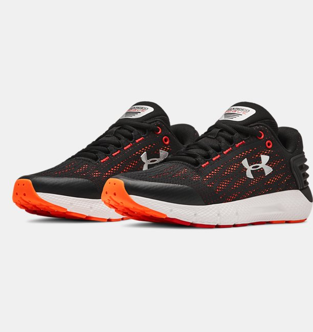 Boys Grade School UA Charged Rogue Running Shoes