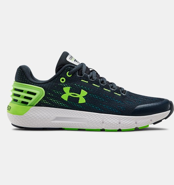 Boys Primary School UA Charged Rogue Running Shoes