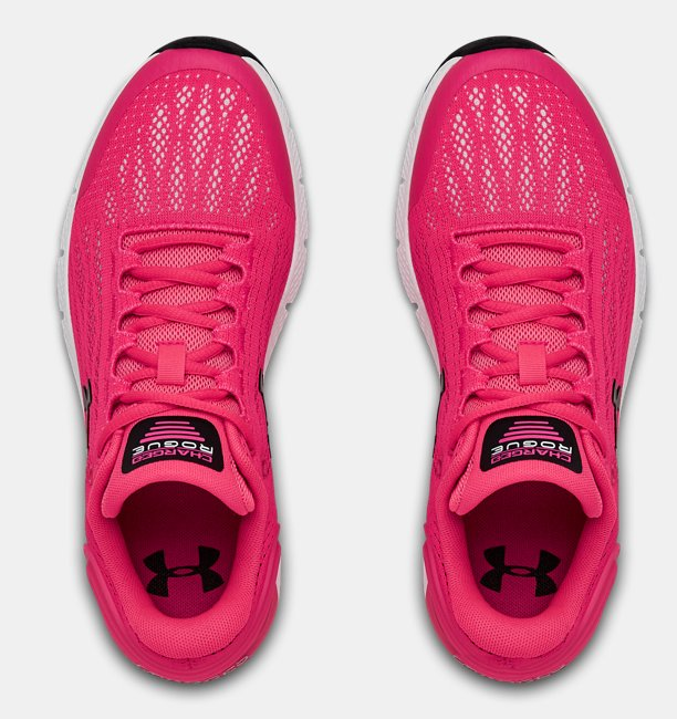 Girls Grade School UA Charged Rogue Running Shoes
