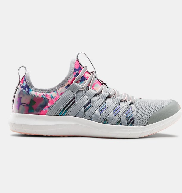 Girls Grade School UA Infinity Marble Shoes