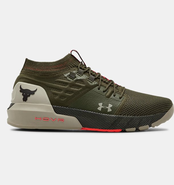 Mens UA Project Rock 2 Training Shoes