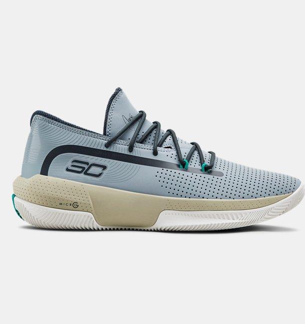 Mens UA SC 3ZER0 III Basketball Shoes