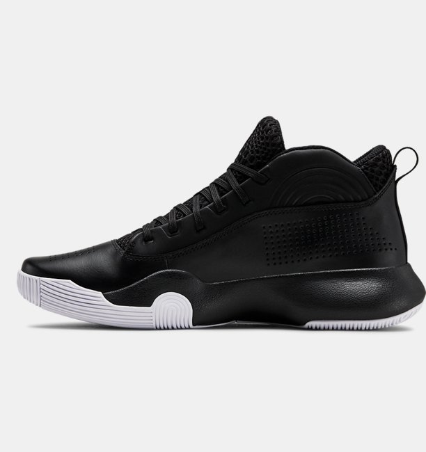 Mens UA Lockdown 4 Basketball Shoes