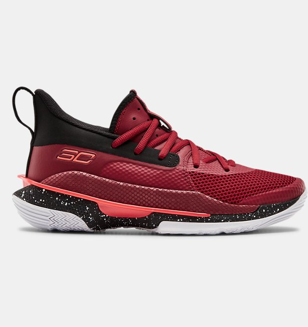 UA Grade School Curry 7 Basketball Shoes