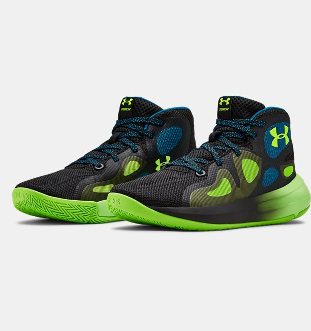 Grade School UA Torch 2019 Basketball Shoes