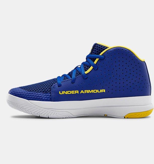 Grade School UA Jet 2019 Basketball Shoes