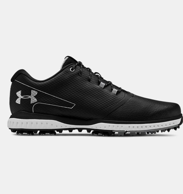 Mens UA Fade RST 2 Wide E Golf Shoes