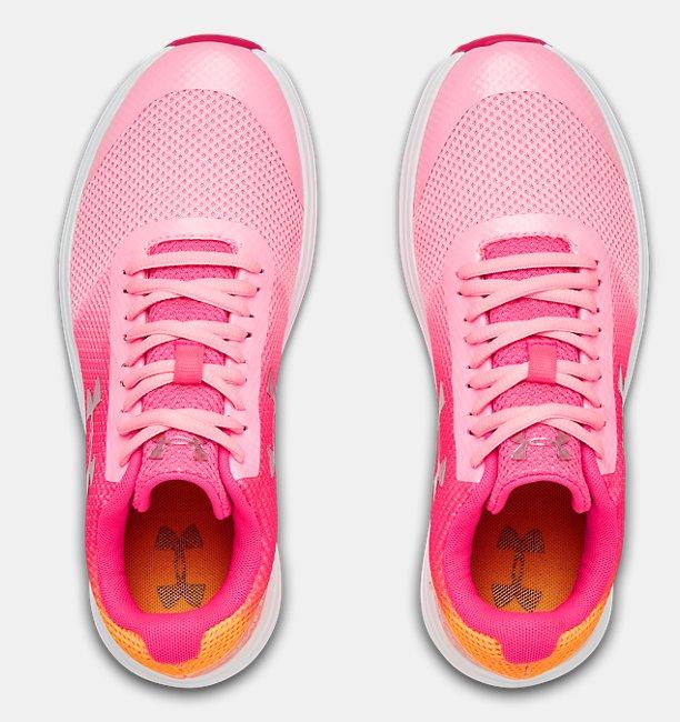 Girls Grade School UA Surge RN Prism Shoes
