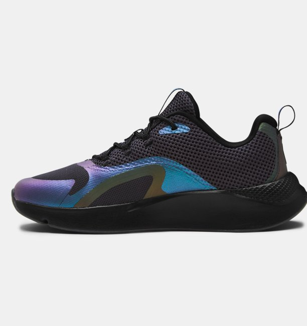 Womens UA Charged RC OIL SLCK Iridescent Sportstyle Shoes