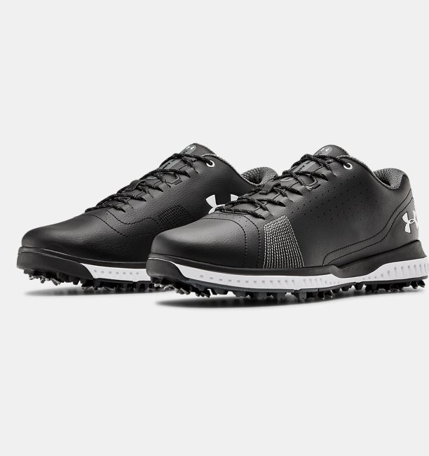 Mens UA Fade RST 3 Wide E Golf Shoes