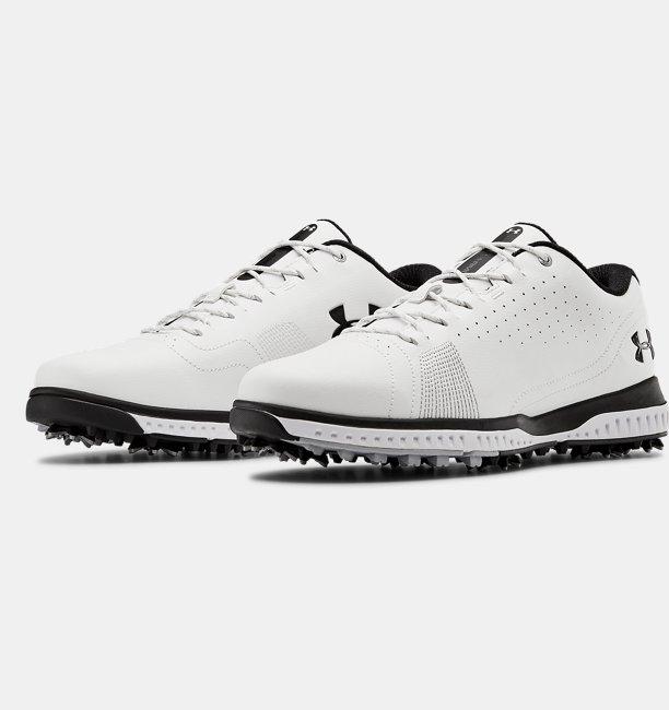 Mens UA Fade RST 3 Wide E Golf Shoes