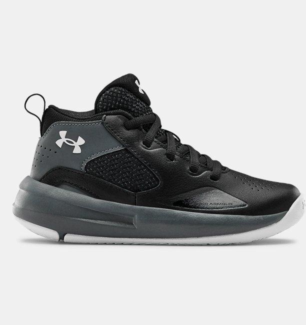 Pre-School UA Lockdown 5 Basketball Shoes