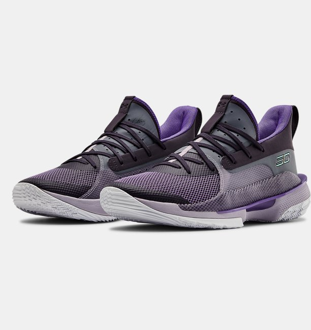 Unisex UA Curry 7 BAMAZING Basketball Shoes