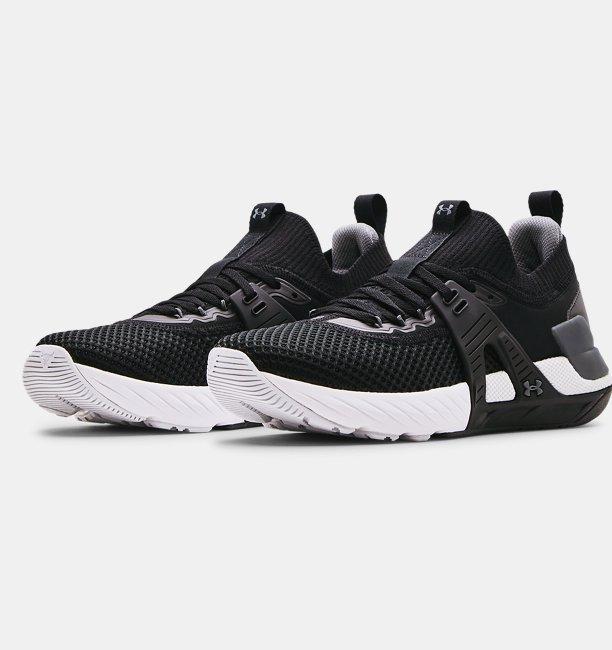 Mens UA Project Rock 4 Training Shoes