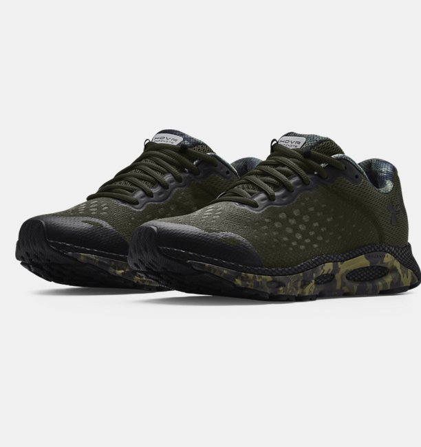 Mens UA HOVR™ Infinite 3 Camo Running Shoes