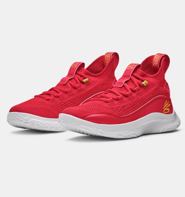 Grade School Curry Flow 8 Basketball Shoes