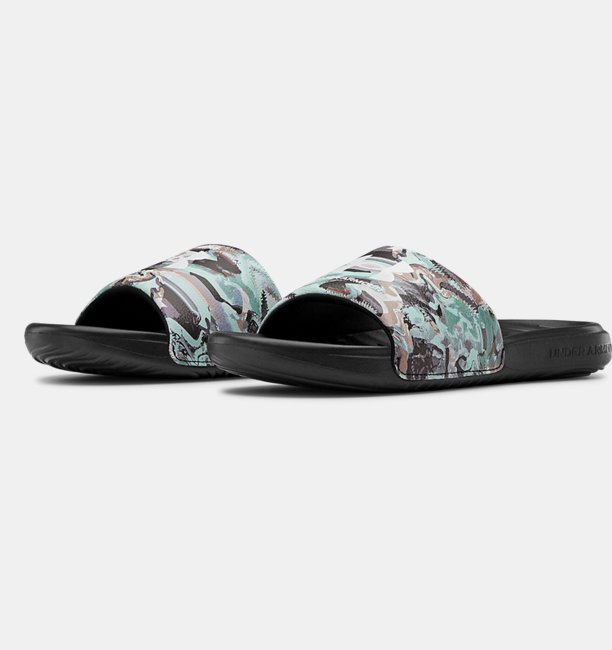 Womens UA Alkali Ansa Fixed Slides