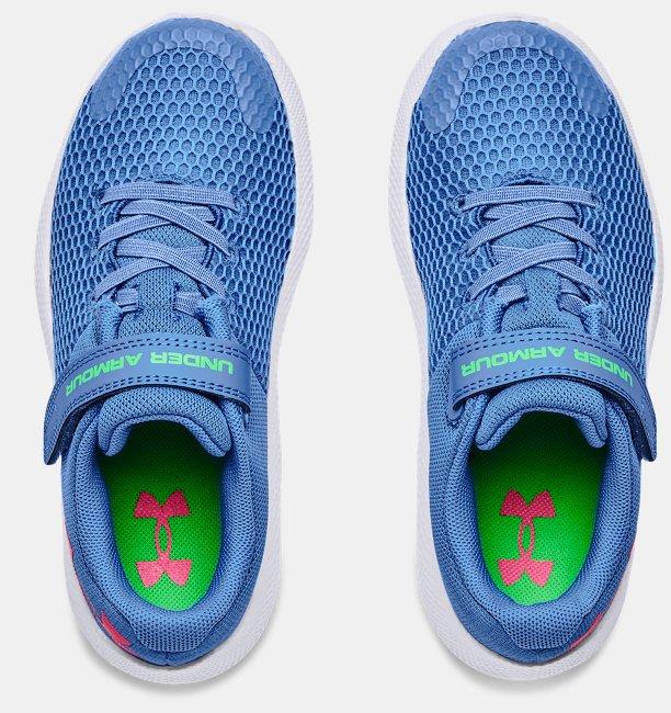 Girls Pre-School UA Pursuit 2 AC Big Logo Running Shoes