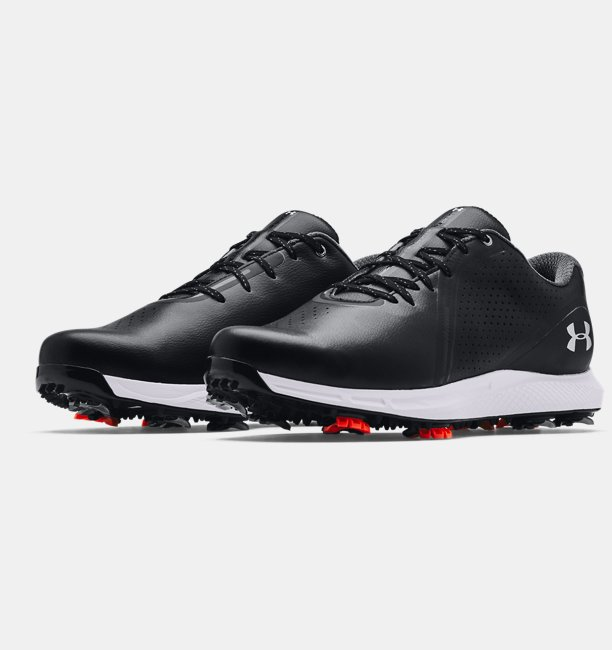 Mens UA Charged Draw RST Wide E Golf Shoes
