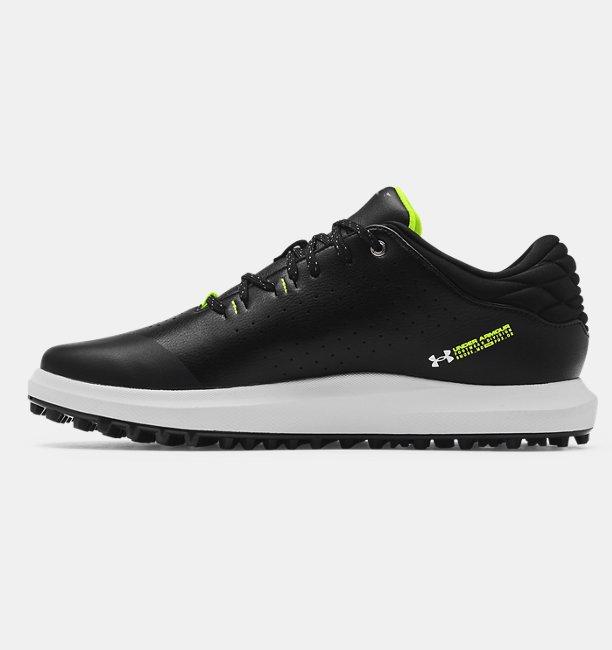Mens UA Draw Sport Spikeless Wide E Golf Shoes