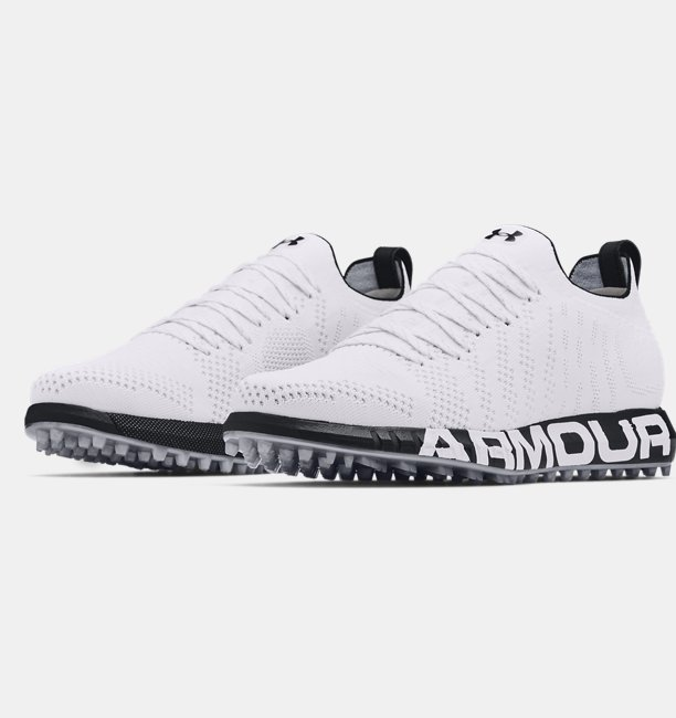 Mens UA HOVR™ Knit Lace Up Spikeless Golf Shoes