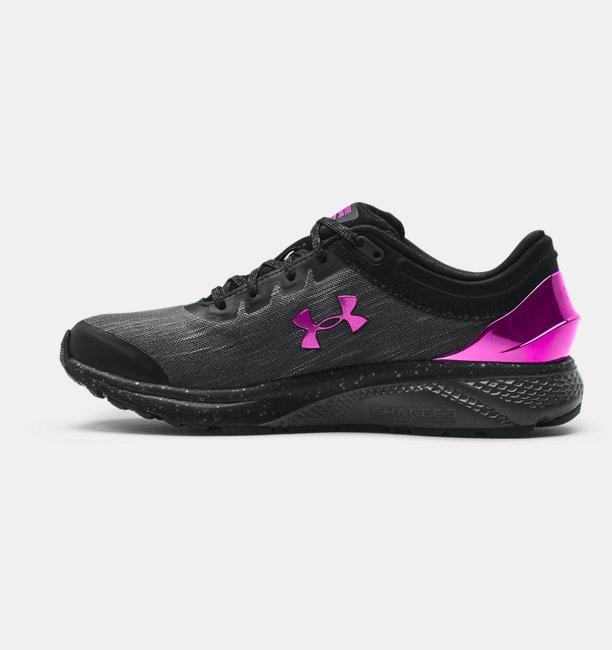Chaussures de course UA Charged Escape3 EVO Charm pour femme