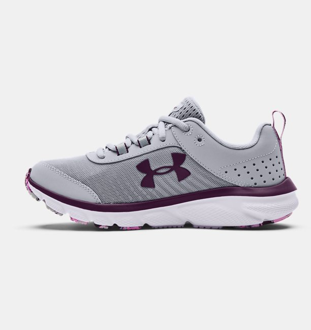 Womens UA Charged Assert 8 Marble Running Shoes