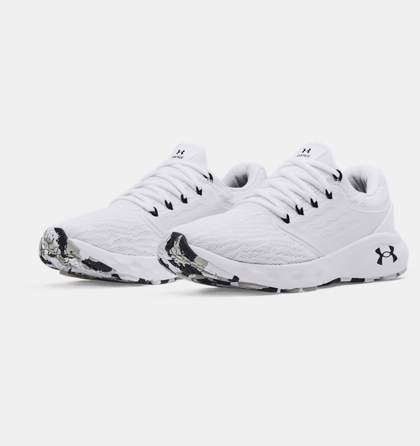 Mens UA Charged Vantage Marble Running Shoes