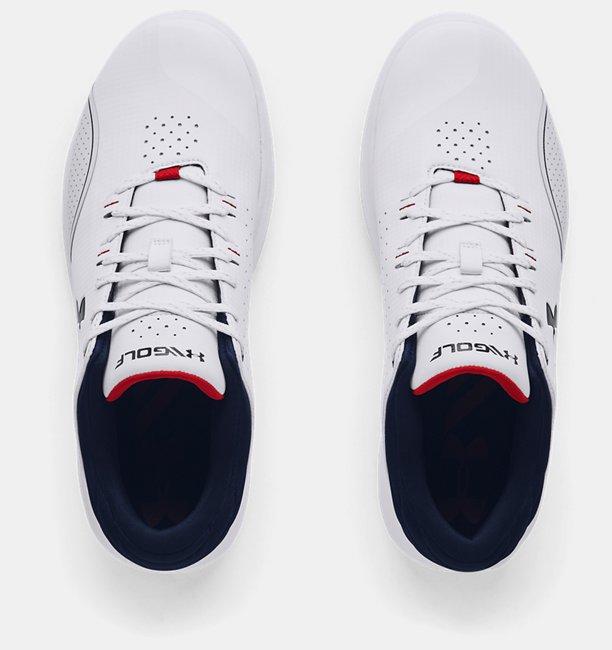 Mens UA Draw Sport Spikeless Extra Wide (EE) Golf Shoes