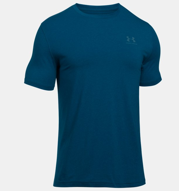 Mens UA Charged Cotton® Left Chest Lockup T-Shirt