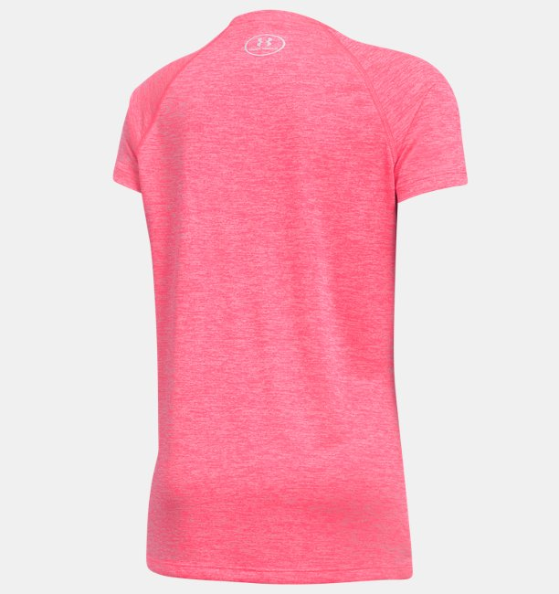 Girls UA Big Logo Short Sleeve T-Shirt