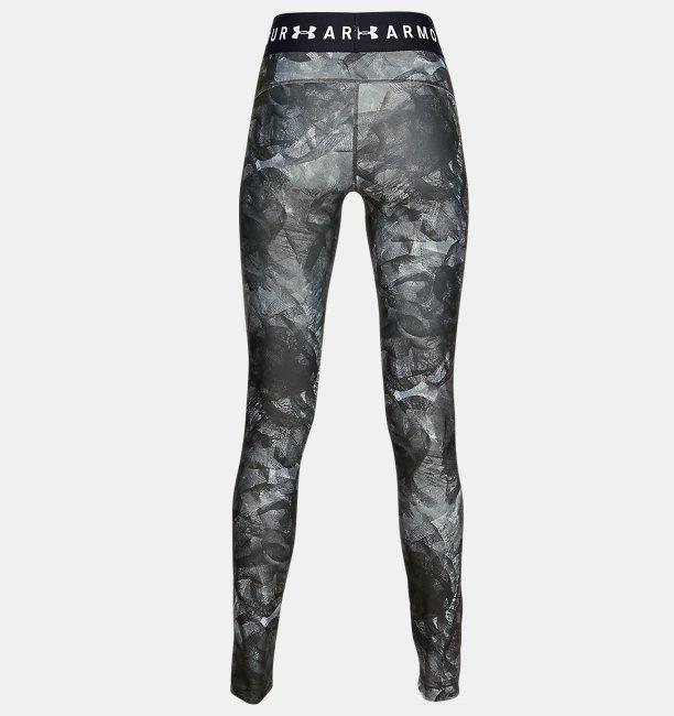 Calça Legging de Treino Feminina Under Armour HeatGear® Armour Branded Waistband Printed