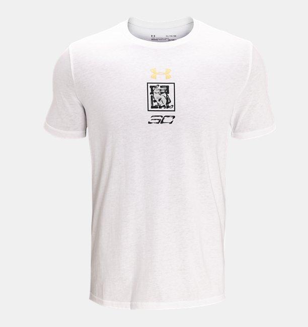 Mens UA Curry CNY T-Shirt
