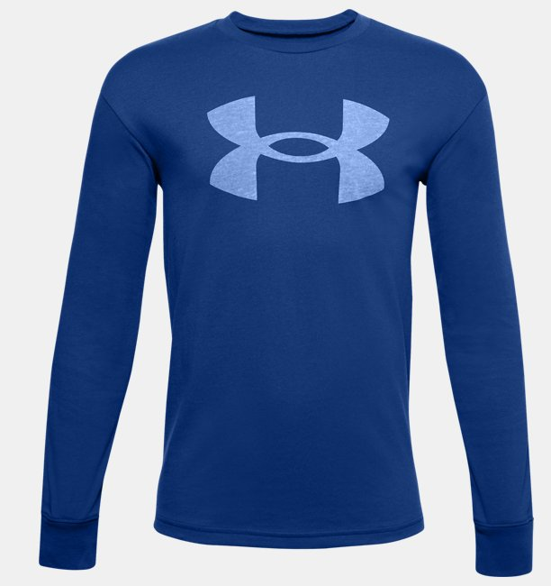 Boys UA Hoopsreal Long Sleeve