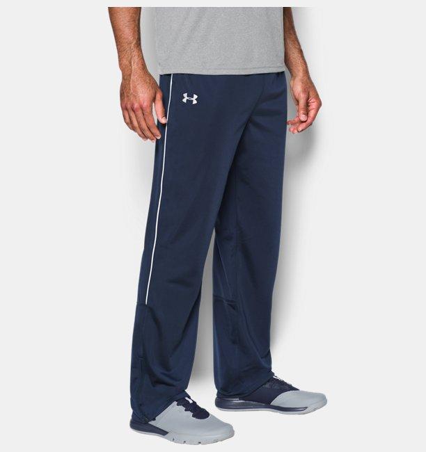 Mens UA Rival Knit Warm-Up Pants