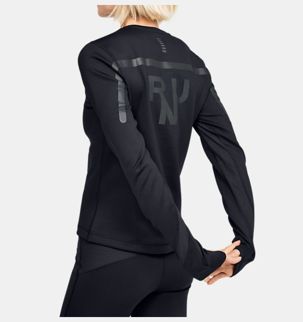 Damen UA Qualifier ColdGear® Langarmshirt