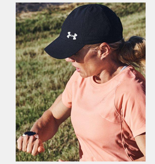 Womens UA Launch Run Cap