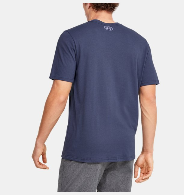 Camiseta de Treino Masculina Under Armour Wordmark Wave SS