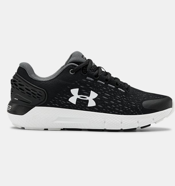 Under Armour Primary School UA Charged Rogue 2 Running Shoes Black 36.5