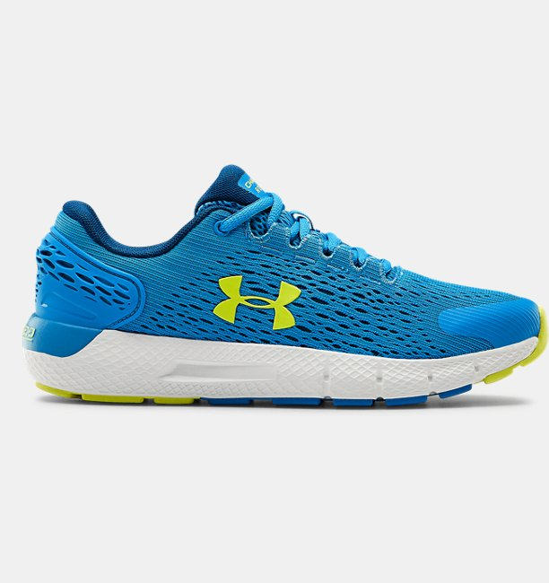 Under Armour Primary School UA Charged Rogue 2 Running Shoes Blue 37.5