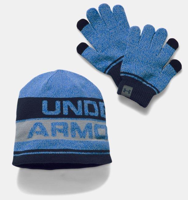 UA Combo Set 2.0 bonnet et gants pour enfant