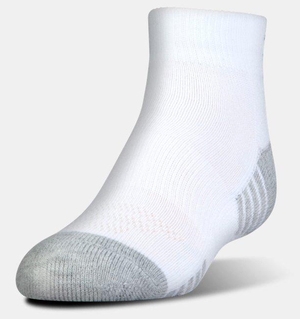 Chaussettes HeatGear® Tech Lo Cut pour enfant Lot de 3 paires