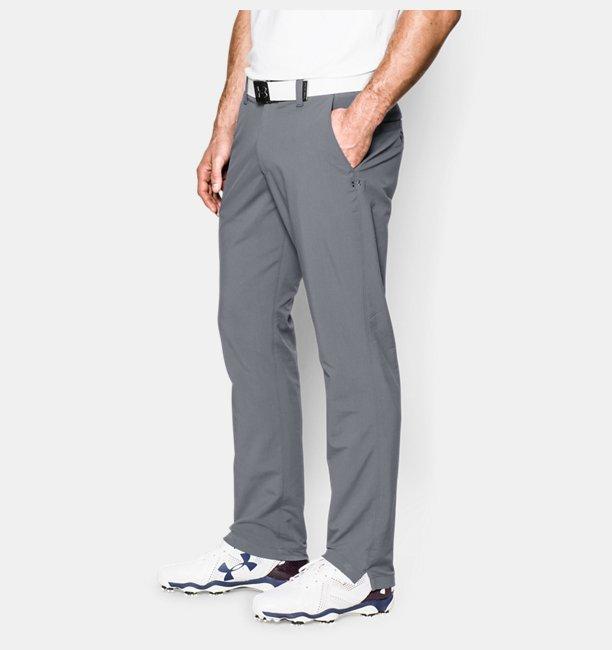 Pantalon de golf UA Matchplay pour homme – Jambe fuselée